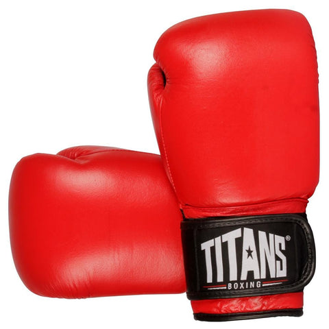 Titans Pro Style Competition Boxing Gloves