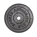 Sports Authority Barbell Plate 5 LBS