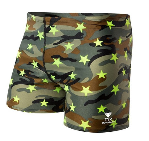 TYR Camo Star All Over Square Leg SBCS7A-310 Multicolor | Toby's Sports