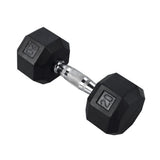 Rubber Hex Dumbbell 20 lbs