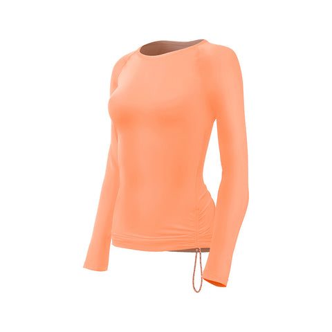 TYR Women's Solid Long Sleeve Swim Shirt | Toby's Sports