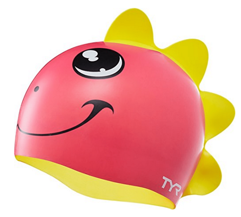 Buy the TYR Kids' Character Dino Diva Cap at Toby's Sports!