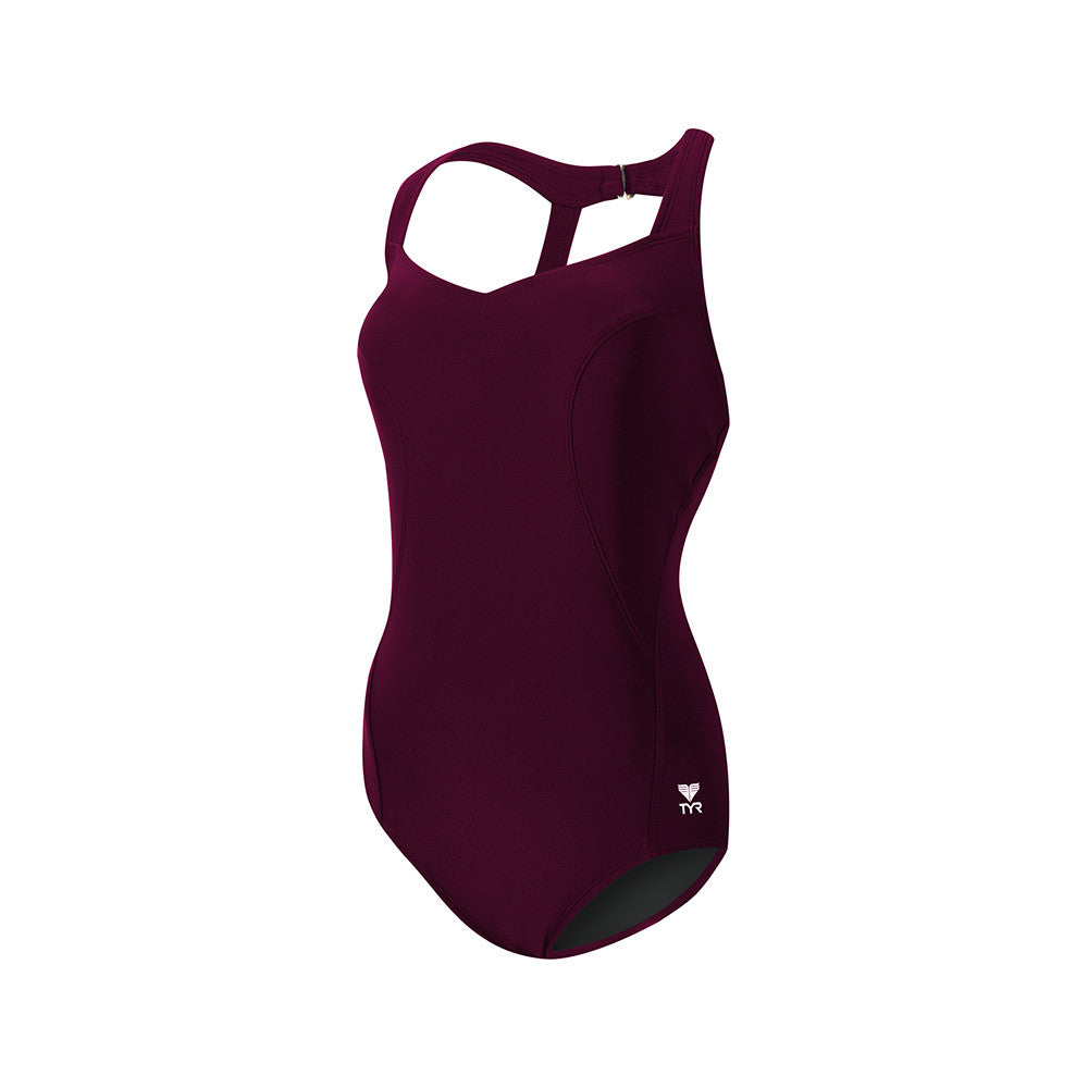 473c57938942b Buy the TYR Women s Solid Halter Twist Controlfit Swimsuit at Toby s Sports!