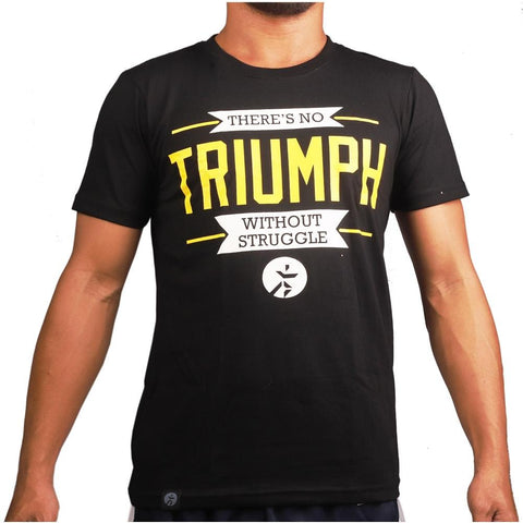 RUNNR Men's Triumph Black Shirt