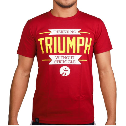 RUNNR Men's Triumph Maroon Shirt