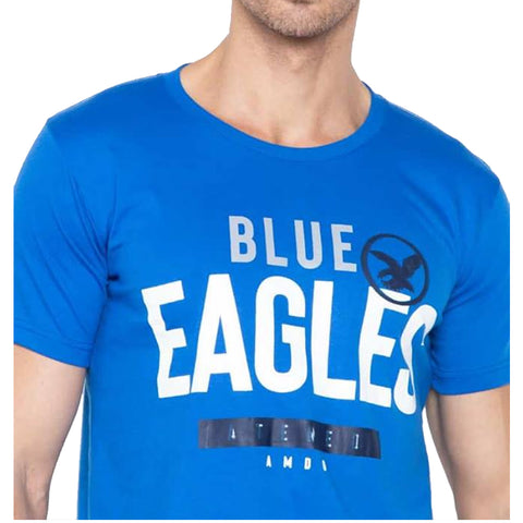 Universidad Men's Ateneo Blake Sporty Cobalt  Blue Shirt