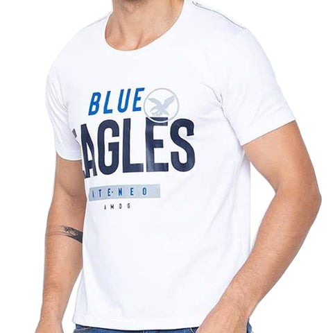 Universidad Men's Ateneo Blake Sporty White Shirt