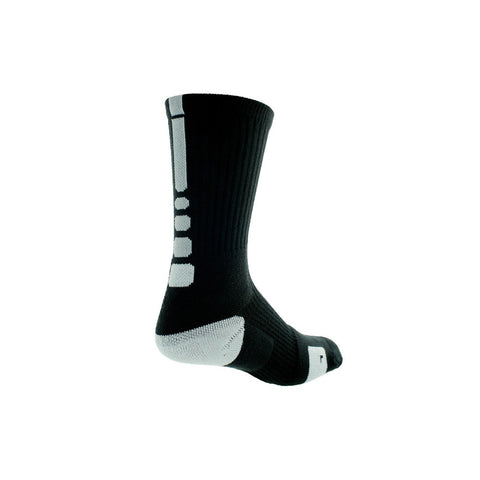 Buy the Nike Men's Dri-FIT Elite Basketball Crew Socks-SX3629-007 at Toby's Sports!