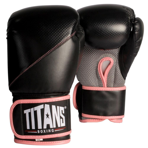 Buy the Titans Women's Aero Boxing Gloves at Toby's Sports!