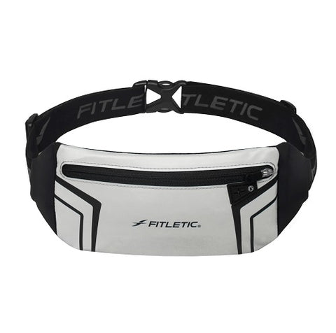 FITLETIC Blitz Running Belt WR01-09 Grey | Toby's Sports