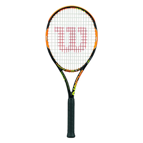 WILSON Tennis Racquet Burn 100 Uls WRT725610 Black/Orange
