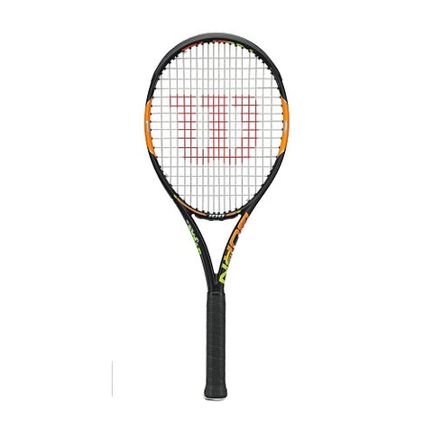 WILSON Tennis Racquet Burn 100 Frame WRT727010 Black/Orange