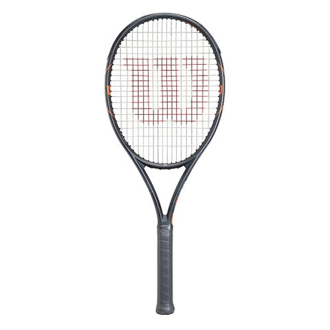 WILSON Tennis Racquet Burn Fast 99 Frame WRT729110 Black/Orange