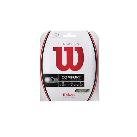WILSON Tennis String Sensation 16 Amber WRZ941000 | Toby's Sports