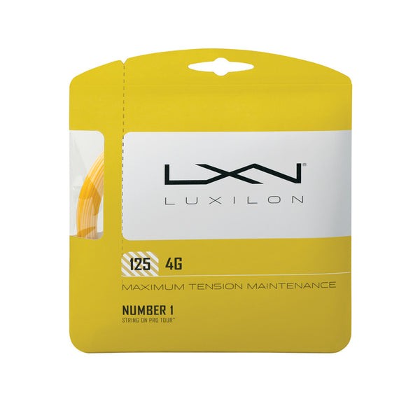 Wilson Luxilion 4 Grams 125 Gold Tennis String
