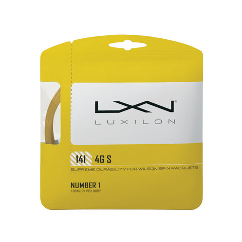 Wilson Luxilion 4 Grams Rough 141 Tennis String | Toby's Sports