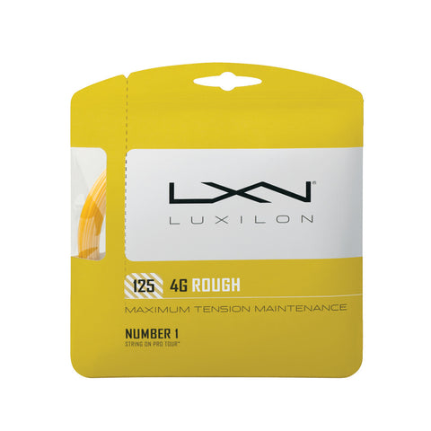 Wilson Luxilion 4 Grams Rough 125 Tennis String | Toby's Sports