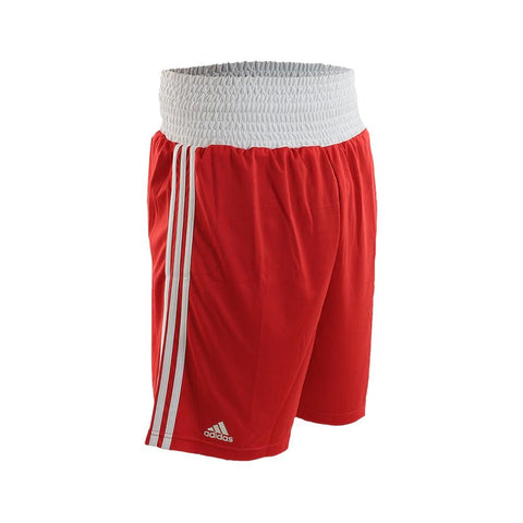 adidas Combat Boxing Shorts-Red