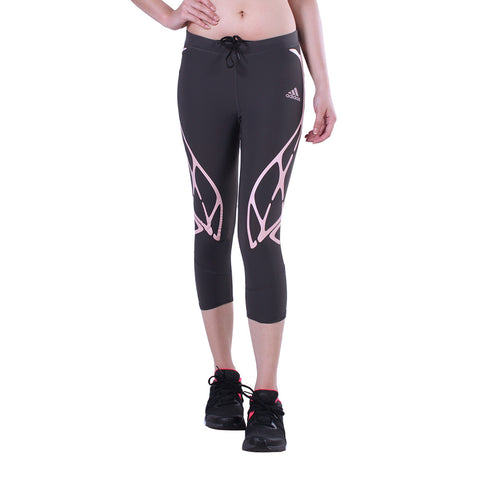 Buy the adidas Women's Adizero Sprintweb Three-Quarter Tights-S93594 at Toby's Sports!