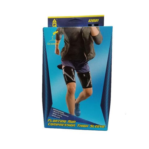 AQ R20501 Floating Run Compression Thigh Sleeve