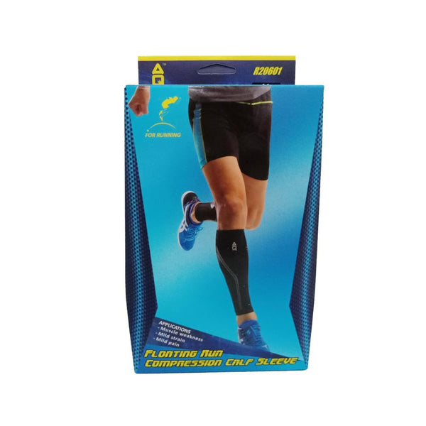 AQ R20601 Floating Run Compression Calf Sleeve | Toby's Sports