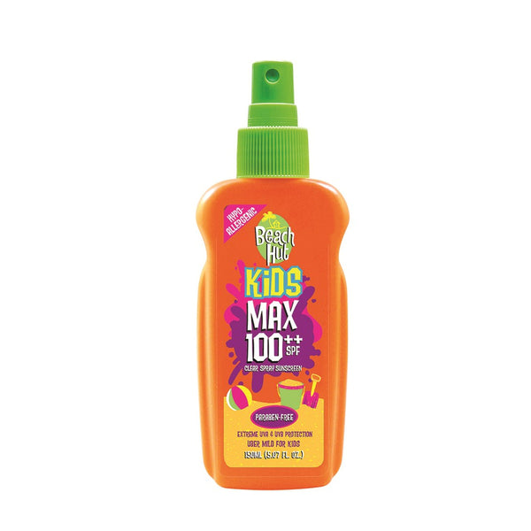 Beach Hut Kids Max 100 SPF Clear Spray