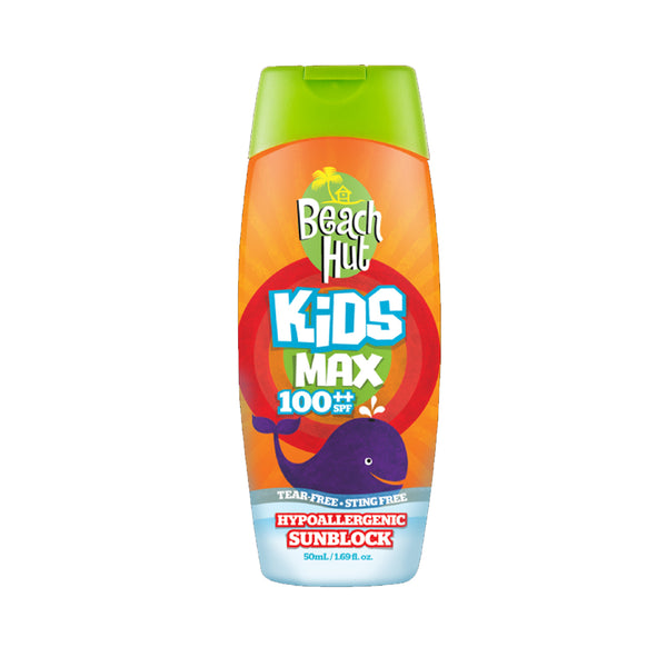 Beach Hut Kids Max 100 SPF Lotion