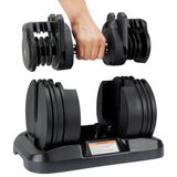 Core Selectorized Dumbbell Pair (45 LBS each Dumbbell)