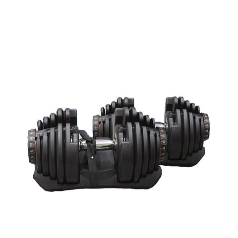 Core Selectorized Dumbbell Pair (90 LBS/40 KGS Each Dumbbell)