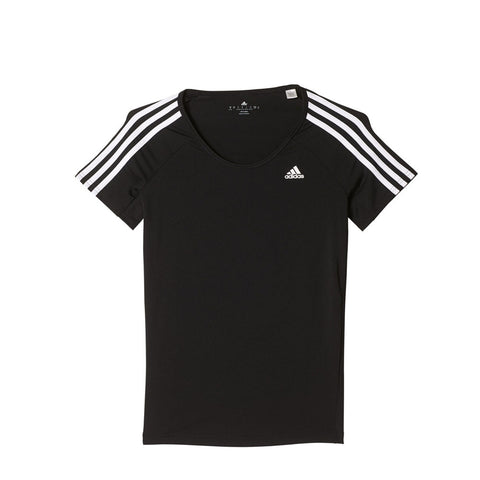 Buy the adidas Basic 3 Stripes Performance Tee-AY7823 at Toby's Sports!
