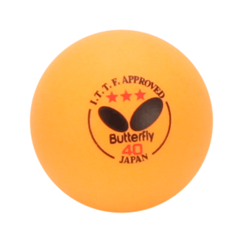 Butterfly Orange Table Tennis Balls