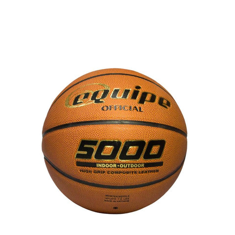 Equipe 5000 Composite Leather Basketball | Toby's Sports