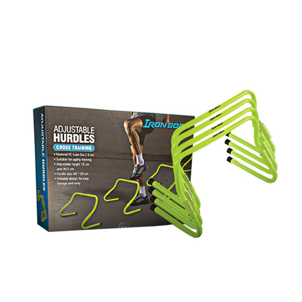 Iron Body Adjustable Hurdles | Toby's Sports