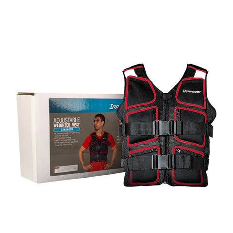 Iron Body Adjustable Weighted Vest | Toby's Sports