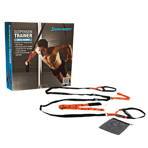 Iron Body Suspension Trainers | Toby's Sports