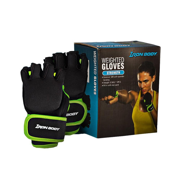 Iron Body Weighted Glove | Toby's Sports