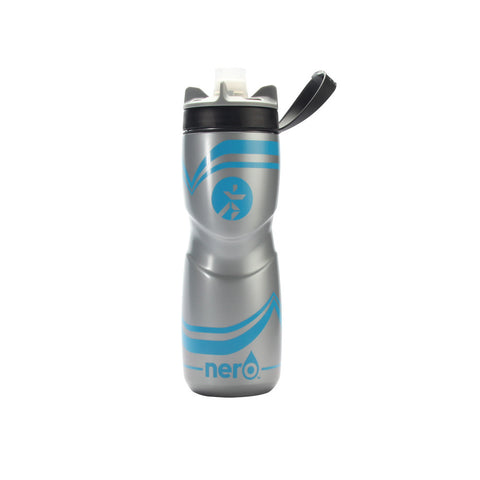 Runnr 25 Oz. Blue Nero Hydration Bottle | Toby's Sports