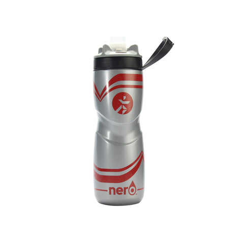 Runnr 25 Oz. Red Nero Hydration Bottle | Toby's Sports