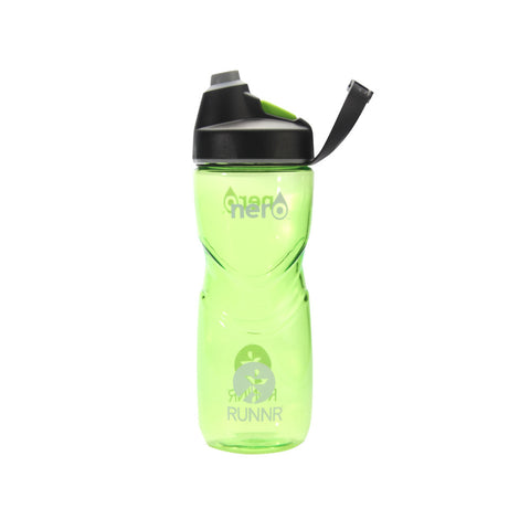Runnr 21 Oz. Green Nero Sports Bottle
