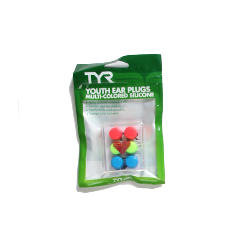 TYR Multi Color Silicone Ear Plugs