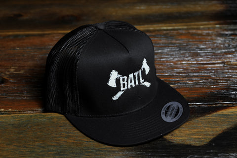 Logo Trucker - Black Mesh