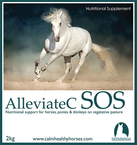 AlleviateC SOS - serious help for grass affected horses and ponies