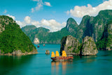 Vietnamese Red Boats