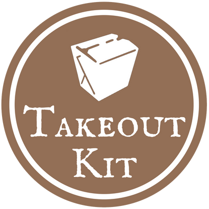 Take Out Kit. Coupons