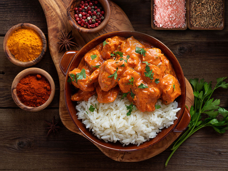 Indian Butter Chicken & Basmati Rice Meal Kit
