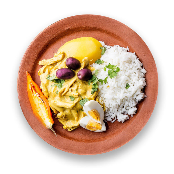New! Peruvian Creamy Yellow Pepper Chicken Meal Kit