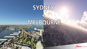 Melbourne + Sydney Bundle 10cm 3D city models - 2017