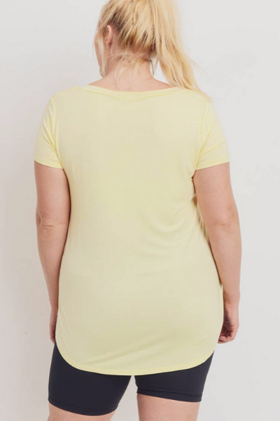 WITTEN TEE - PLUS - YELLOW