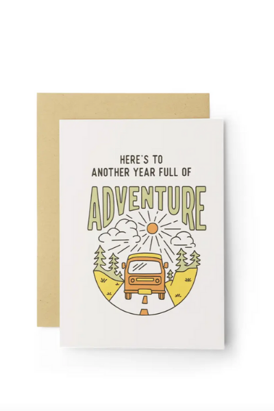 YES TO ADVENTURE CARD