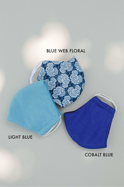 ADULT FACE MASK - LIGHT BLUE